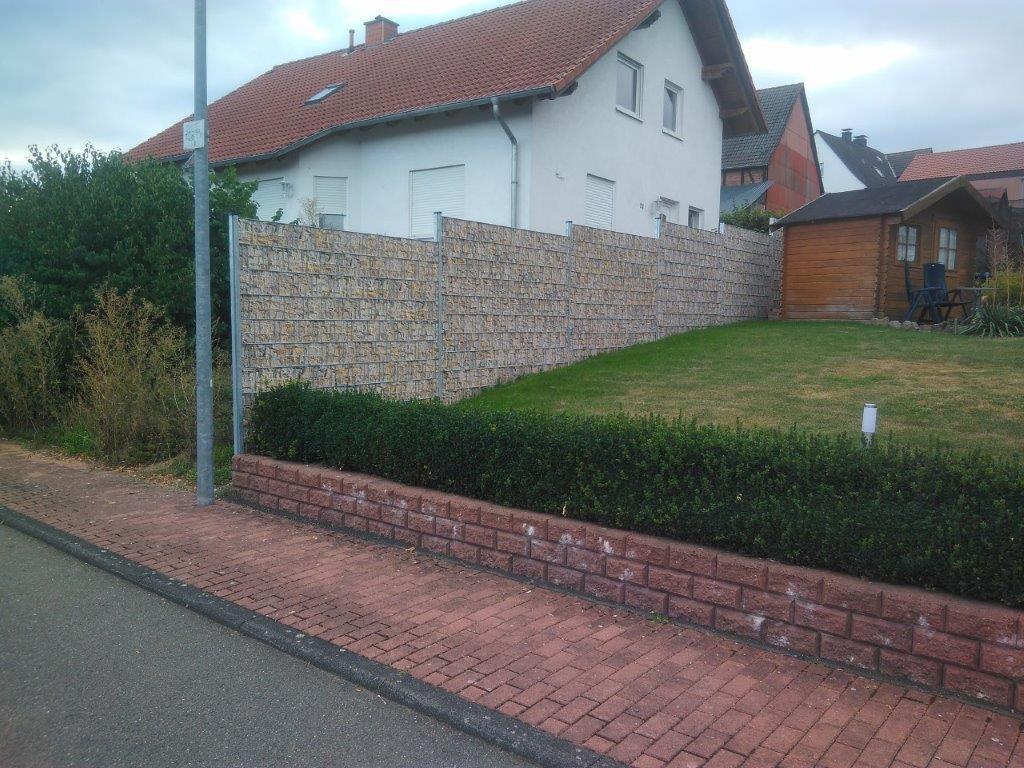 Sichtschutzzaun Reichhold Zaunbau